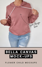 Load image into Gallery viewer, Bella Canvas 3719 Mockup Mauve - flowerchildmockups