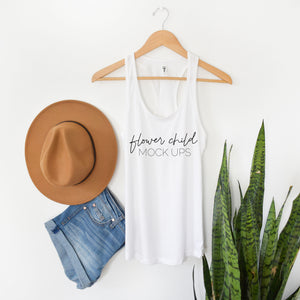 Boho Mockup Next Level 1533 White - flowerchildmockups