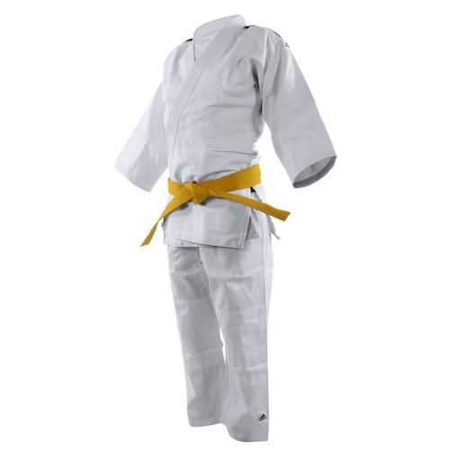 adidas Judo J350 Initiation Uniform - Blue Stripes