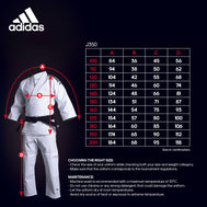 adidas Judo J350 Initiation Uniform - Pink Stripes