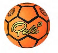 Pele Neon Moulded Soccer Ball