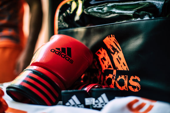Adidas Power 200 Duo Boxing Gloves - Shiny