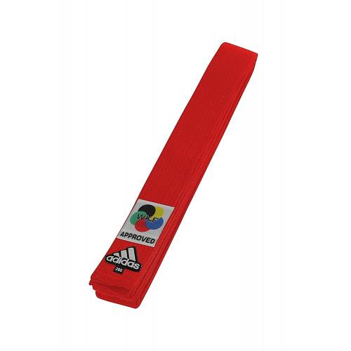 "adidas ""Wkf"" Karate Belt - Red"