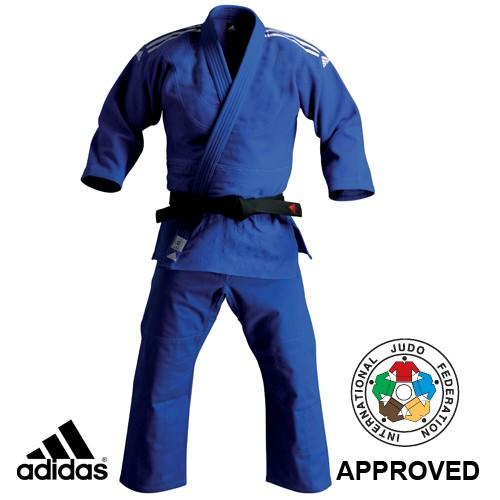 adidas Judo J930 Uniform  - Ijf Approved Blue