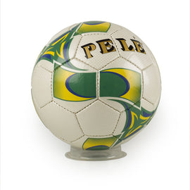 Pele Signature Stitched Green/Yellow Soccer Ball