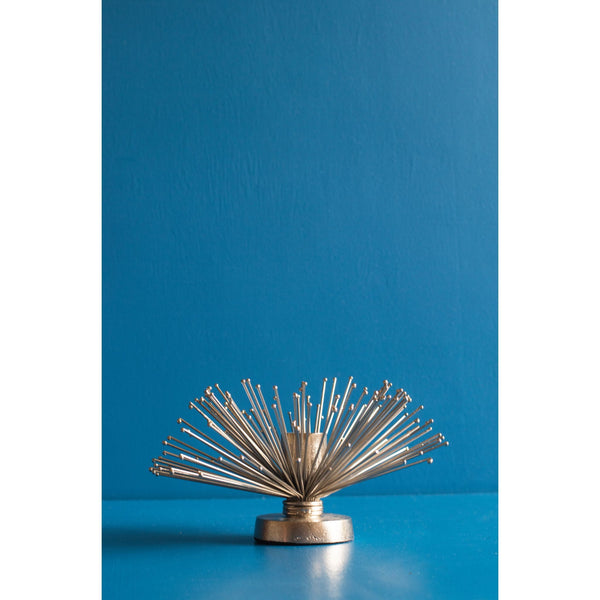 Decorative Metal Candle Holder – Large