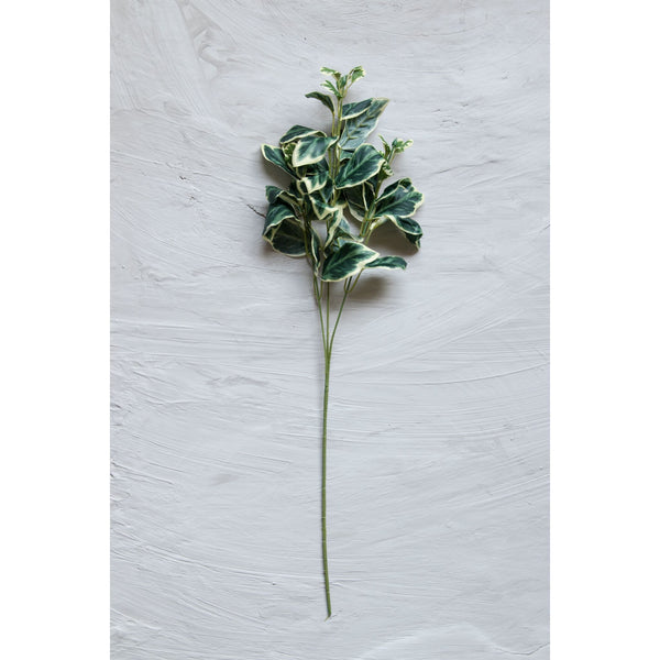 Natural-looking Variegated Fern Stick – Green ( Set of 2 Sticks )