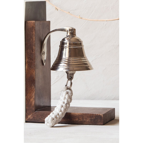 Ornamental Bell Bookend