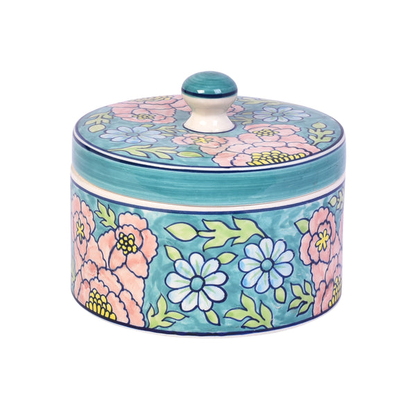 Multipurpose Handcrafted Ceramic Jar - Small