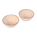 Oval ceramic serving bowl (Set of 2)