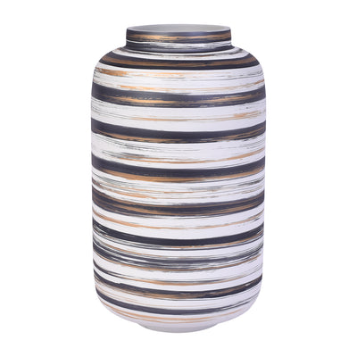 Opal Thread Glass Vase - Large
