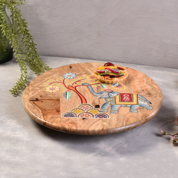 Traditional Wooden Lazy Susan