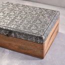 Embossed Wooden Storage Box