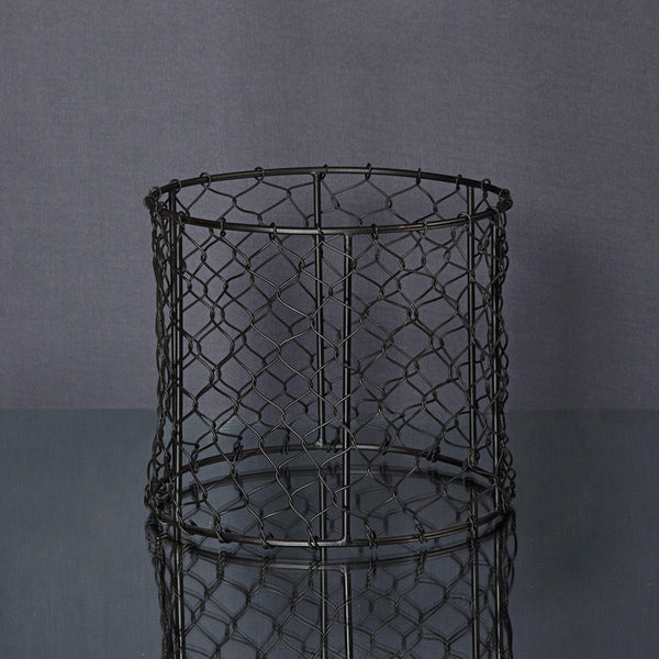 Moroccan Forged Pot - Black