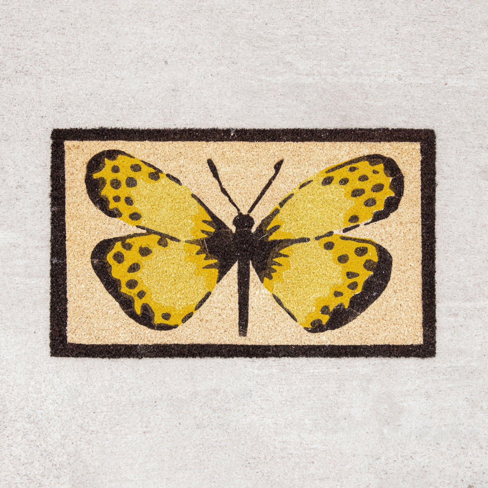 Fly Away Butterfly Doormat