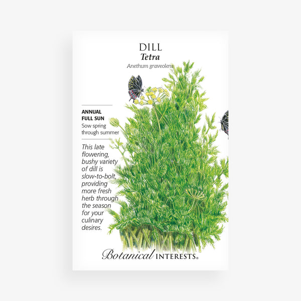 'Tetra' Dill Seed Packet