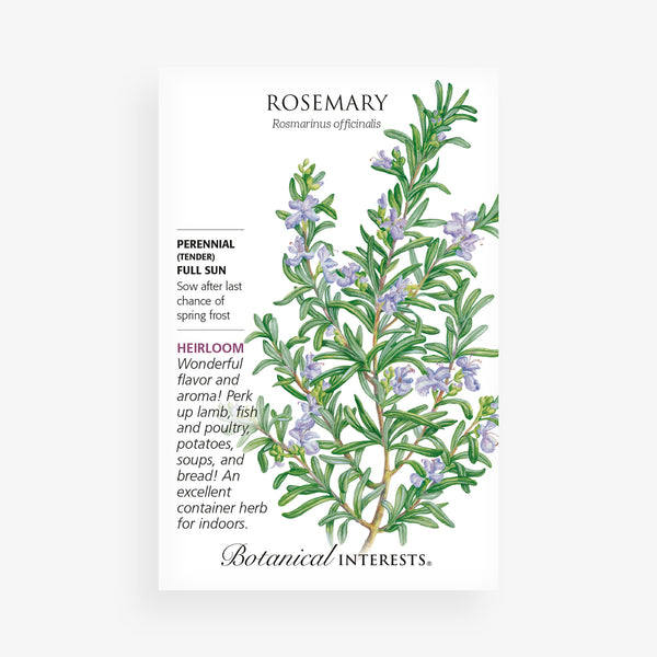 Rosemary Seed Packet