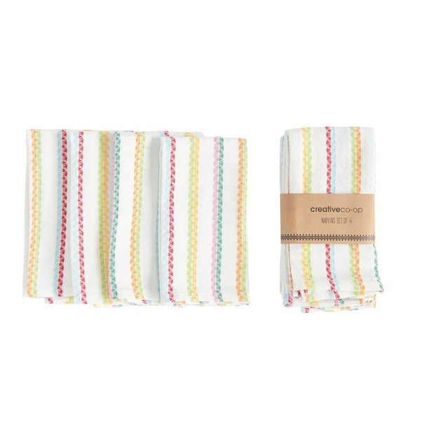 Striped Napkin Set