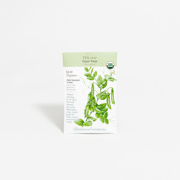 'Sugar Snap' Pea Seed Packet