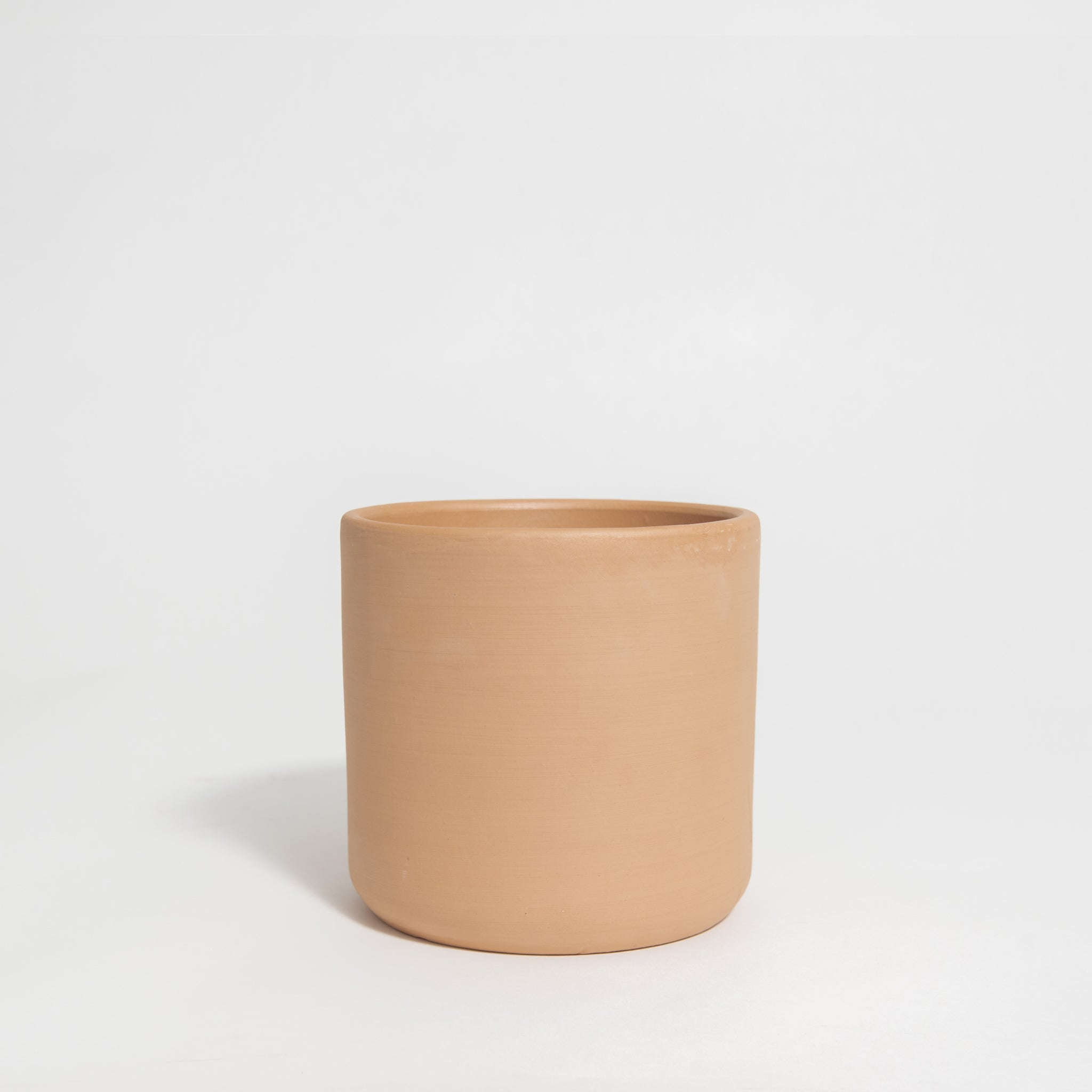 Deep Cylinder Terra Cotta Pot