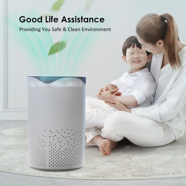 Portable Home Air Purifier Cleaner UV lamp