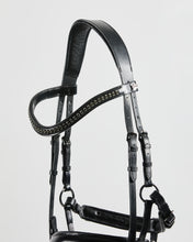 Load image into Gallery viewer, Kingsley Snaffle Bridle Special with Reins Black/Full