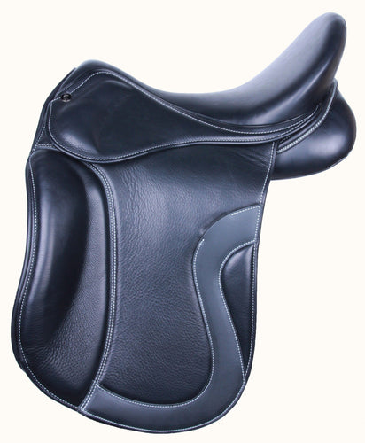 Kingsley D1 Saddle with Velcro Knee Blocks