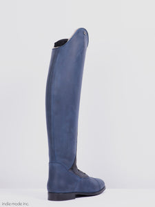 Kingsley Orlando 02 41 A M Gaucho Navy/Blue Shiny Utterly Sheepskin