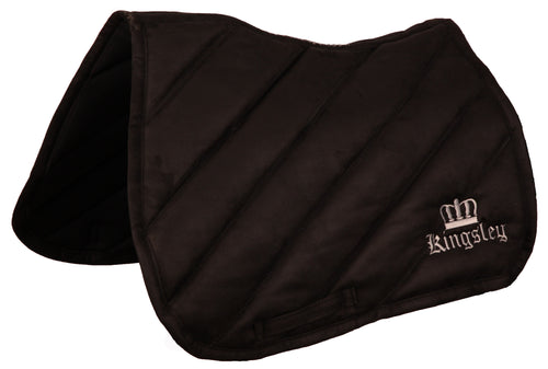 Kingsley Saddle Cloth Jumping Black