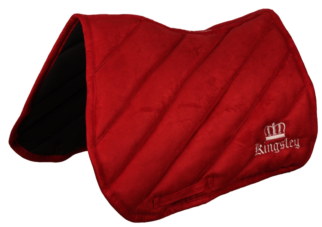 Kingsley Saddle Cloth Jumping Red