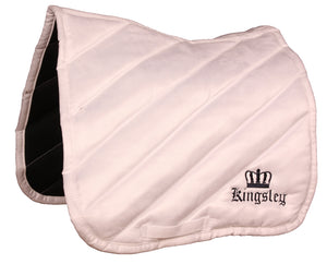 Kingsley Saddle Cloth Jumping White