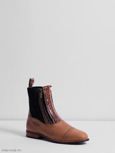 Kingsley Zambia 40 Gaucho Brown/Python Special Brown