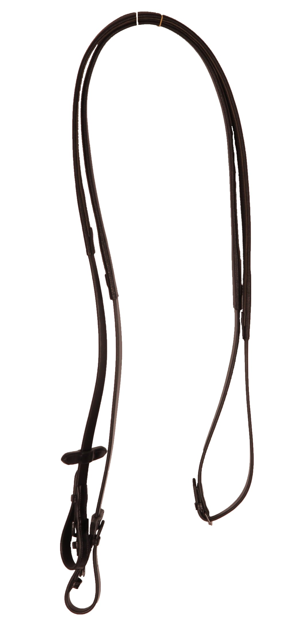 Kingsley Flat Rubber Backed Leather Reins