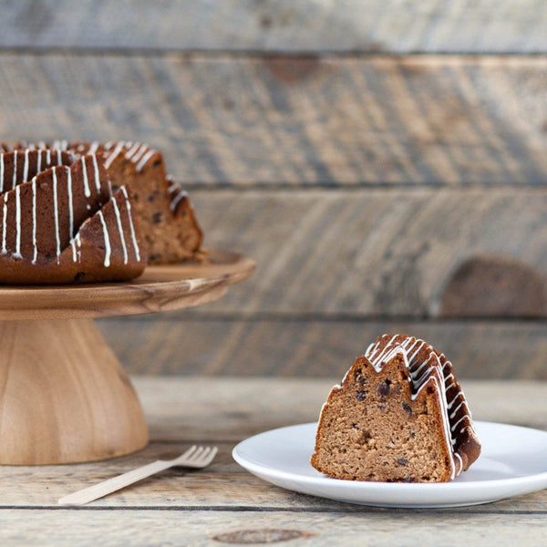Spiced Chestnut & Currants Bundt Cake - Glutenfree