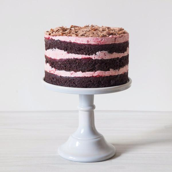 Cherry Chocolate Cake  Gluten-free - Krumville Bake Shop