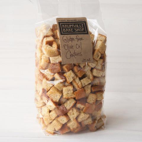 Extra Virgin Olive Oil Croutons Gluten-free
