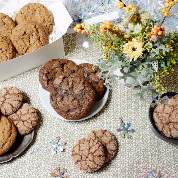 Holiday Cookie Trio Gift Box - Gluten Free