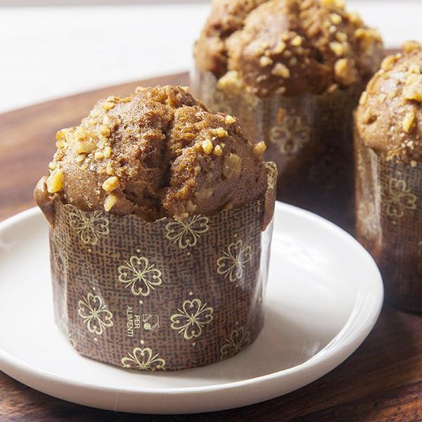 Banana Walnut Muffin - Gluten-free - Krumville Bake Shop