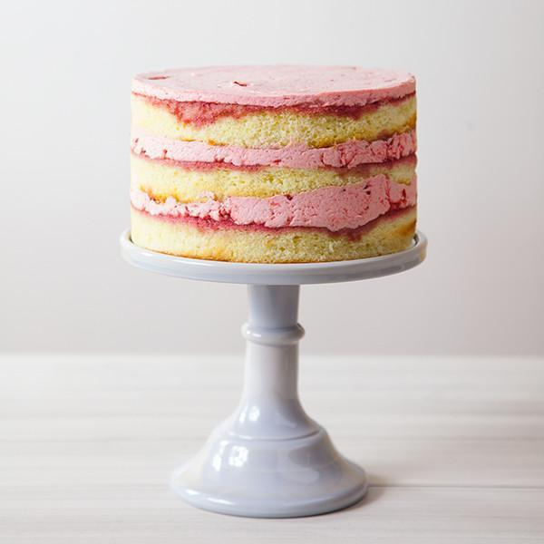 Strawberry Vanilla Cake Gluten-free - Krumville Bake Shop
