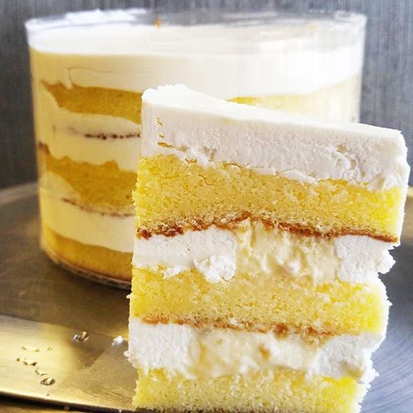 Lemon Cream Cake  Gluten-free - Krumville Bake Shop