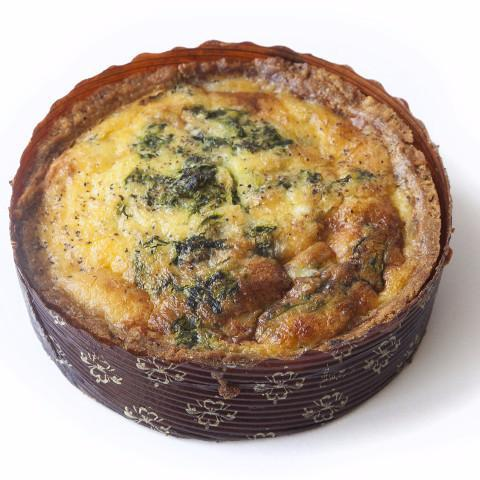 Quiches with Spinach & Gruyere (Two) - Krumville Bake Shop