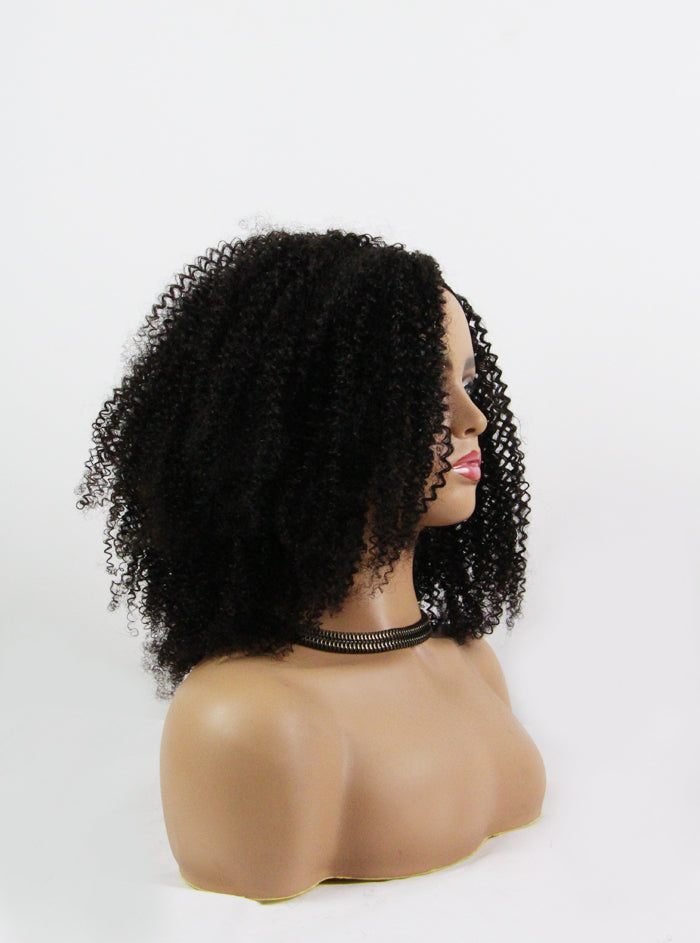 hair 3c, black curly wig