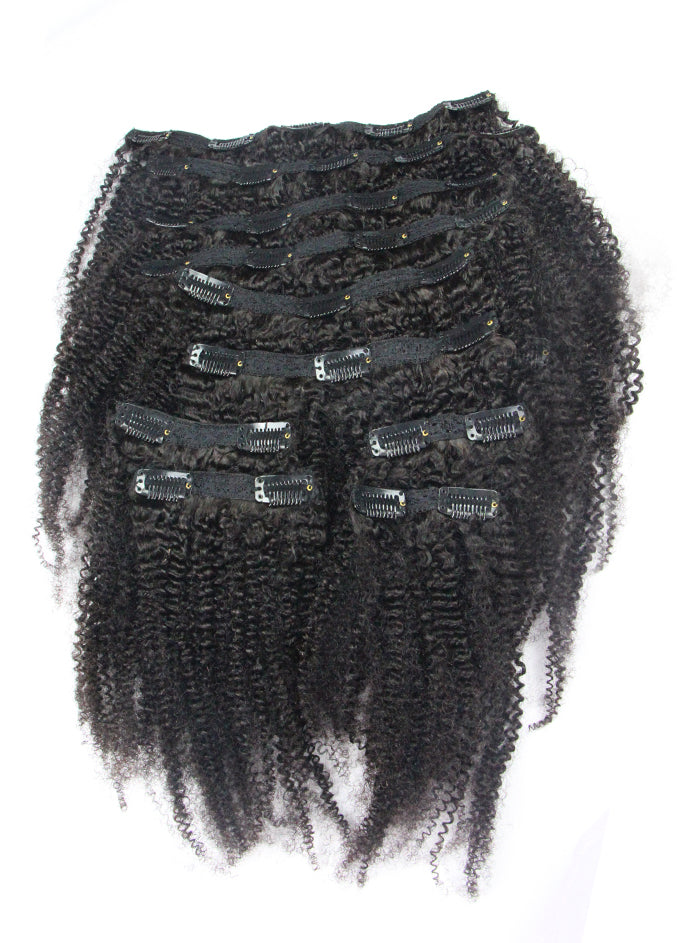 clip in hair extensions ombre, clip in extensions kinky curly