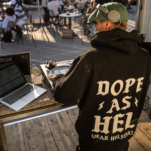 Dope As Hel - huppari, Wear Helsinki