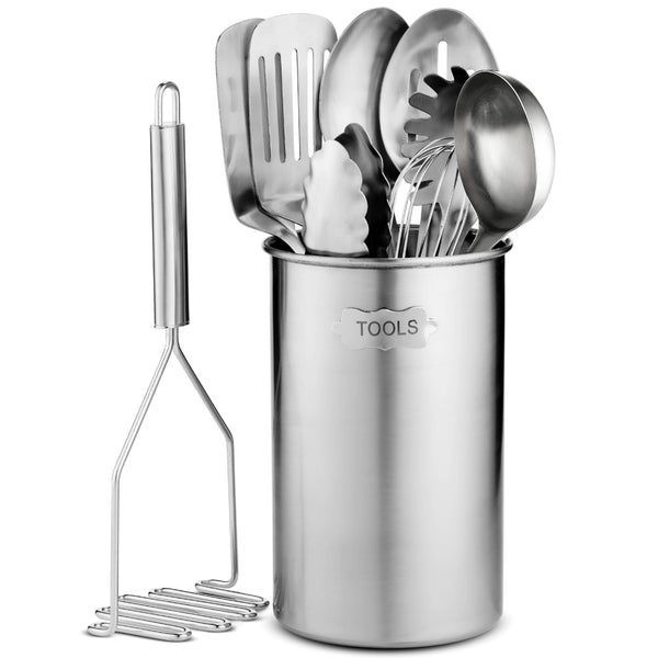 Premium Stainless Steel Kitchen Utensil Set - 10 piece - Finedine | The Best And Beyond