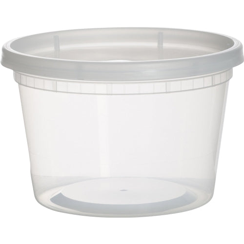Clear Deli Food Containers with Lids,16 OZ 36 Pack - Finedine | The Best And Beyond