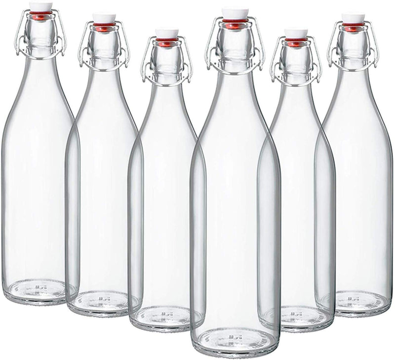 Swing Top Bottles 33 ¾ Ounce/1 Liter (6 Pack) - Finedine | The Best And Beyond