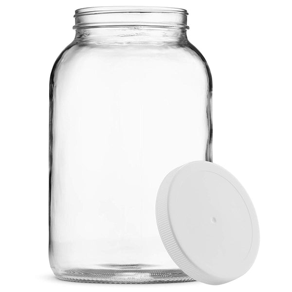 1 Gallon USDA Glass Jar with plastic Lid - Finedine | The Best And Beyond