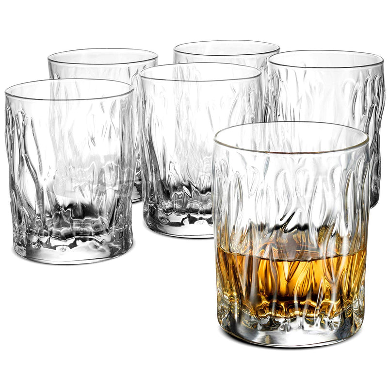 Whiskey Glass Set - 11¾ Ounce Double Old Fashioned Glasses (Set of 6) - Finedine | The Best And Beyond