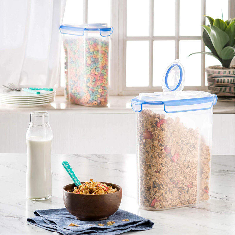 Extra Large Cereal Containers [2pk,168oz-21cup] - Finedine | The Best And Beyond